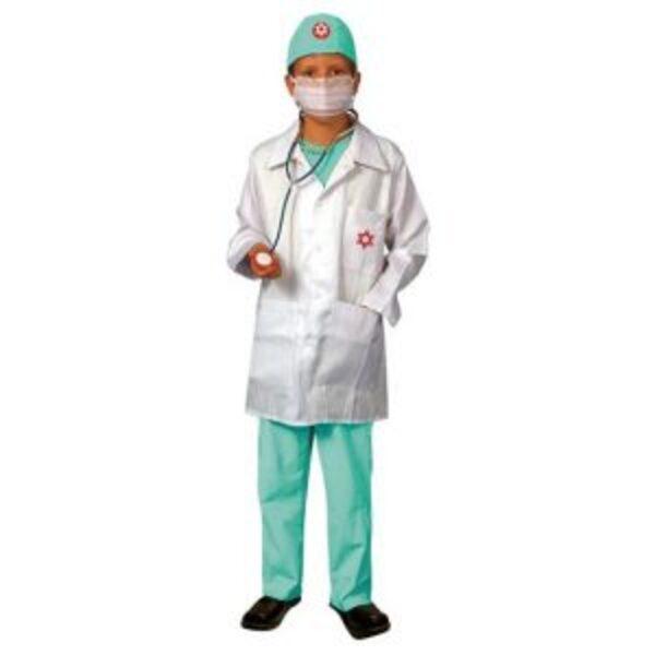 תחפושת רופא מנתח 3-12