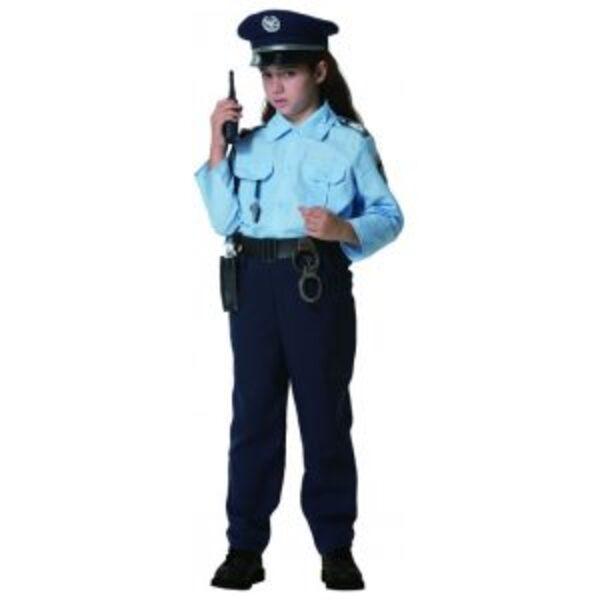 תחפושת שוטרת לילדות 3-12
