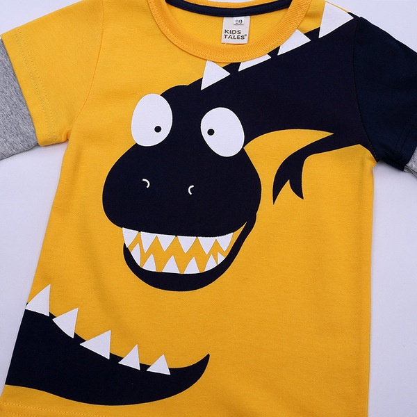 חולצת דינוזאור 2-8 לעונות המעבר
