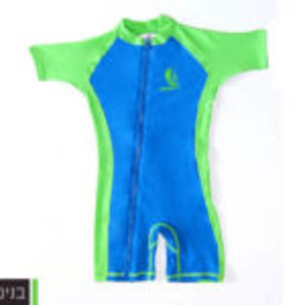 בגדי ים מסנני קרינה לילדים 6 חוד'- 3 שנים