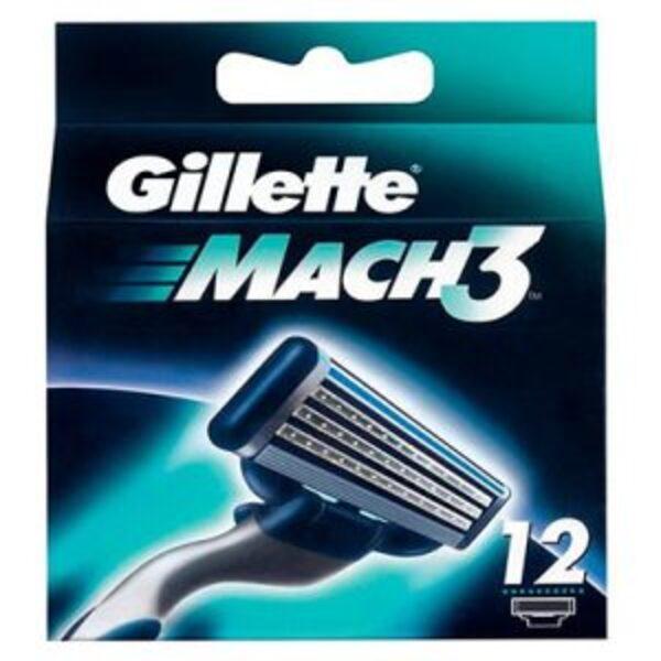 מארז 12 סכיני גילוח ג'ילט Gillette