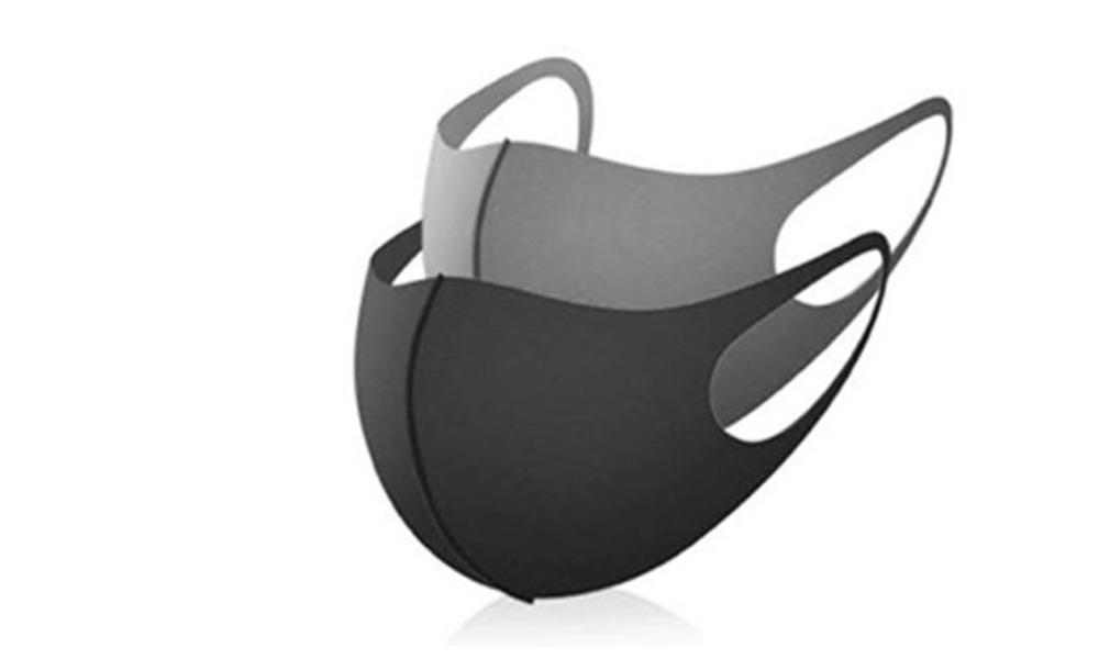 מסכת פנים X-MASK רב פעמית ו-10 פדים להחלפה