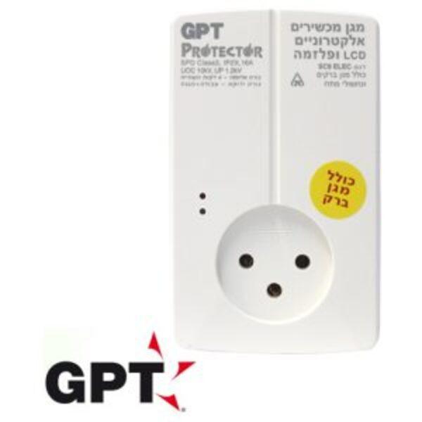 שקע חשמל מגן ברקים GPT Protector SC9ELEC