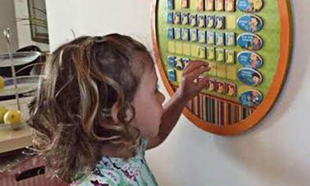 לוח הצלחות חינוכי לילדים, ללימוד כישורי חיים
