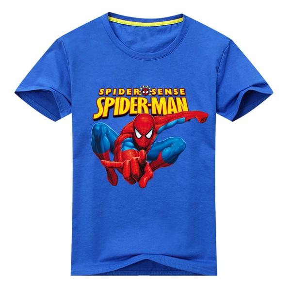 חולצת טישרט ספיידרמן לילדים