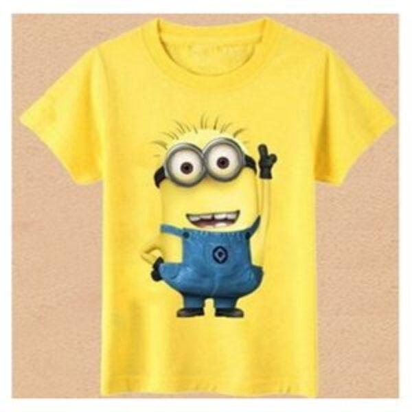 חולצת טישרט מיניונים לילדים 2-6 שנים