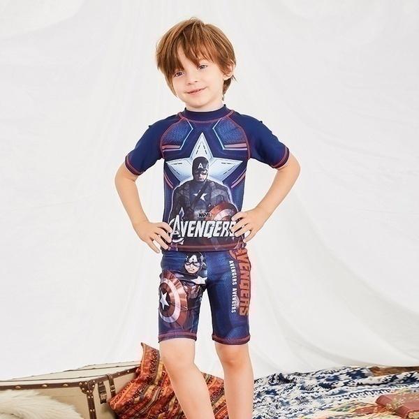 סט שחייה גיבורי על לילדים 2-9 שנים