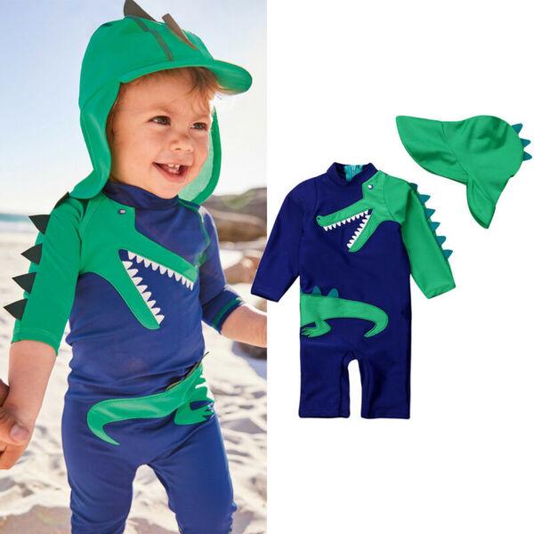 בגד ים חליפת שחייה לילדים 1-5 שנים