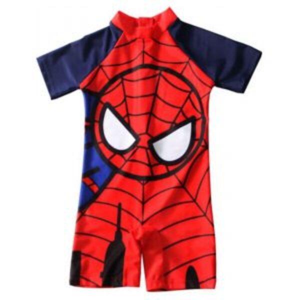 אוברול בגד ים ספיידרמן לילדים 2-7 שנים