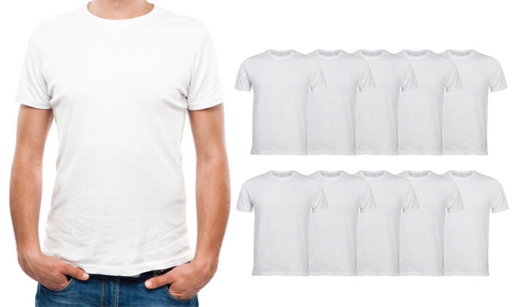10 חולצות קצרות לגברים VALENTO
