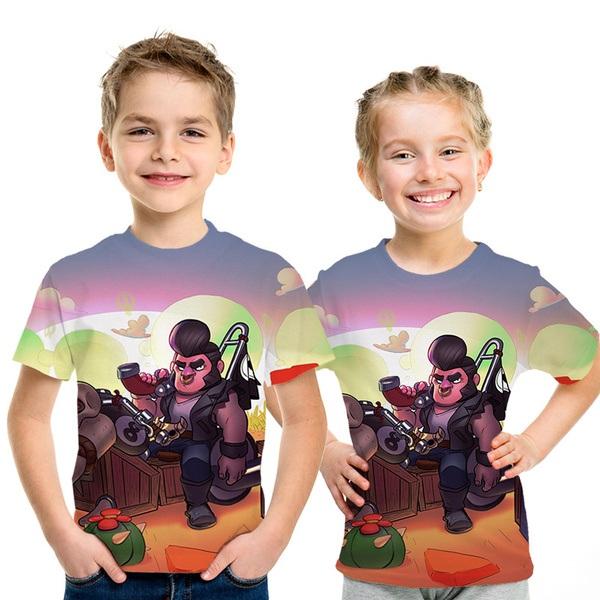 חולצות בראול סטארס לילדים 6-12 שנים