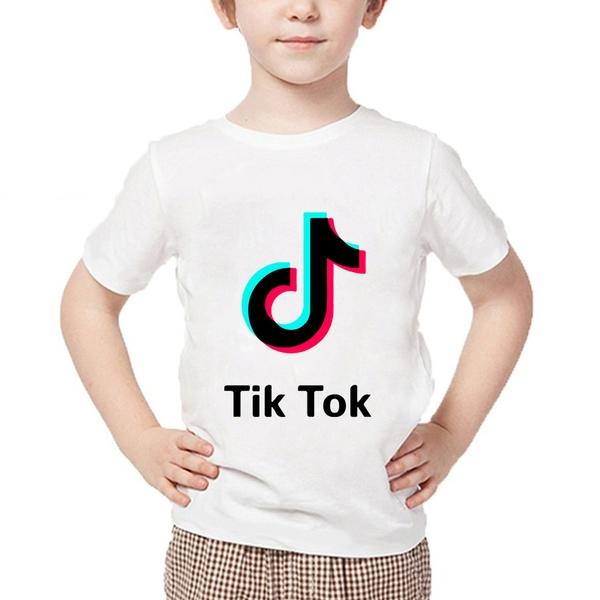 חולצת טישרט TIK TOK לילדים ולגברים