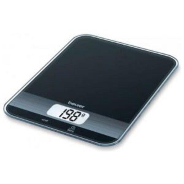 משקל מטבח דיגיטלי Beurer KS19BLK  – צבע שחור