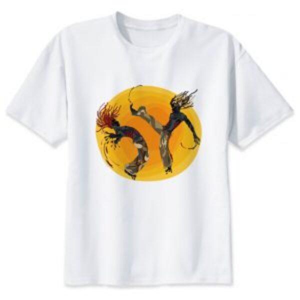 חולצת טישרט קפוארה לנוער ולגברים