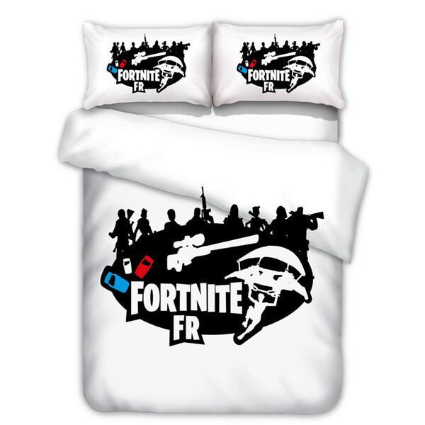 מצעים למיטה של FORTNITE